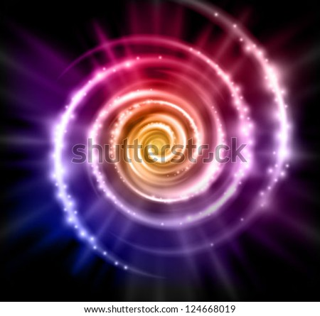 abstract vector magic background - stock vector