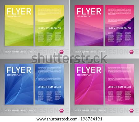 colorful brochure design - leaflet background stock images royalty free images