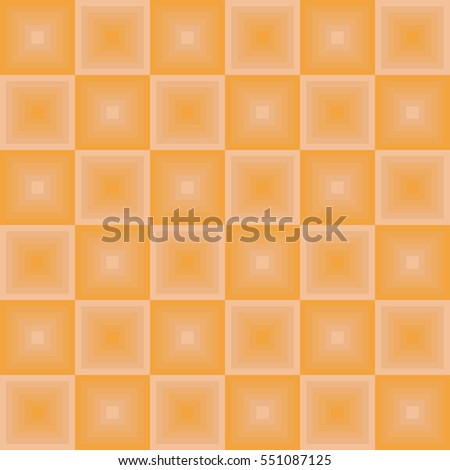 Different Shades Of Orange seamless tile wall pattern orange beige stock vector 610794572