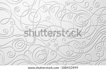 Abstract vector paper background. Hand-drawn vector illustration for your design. - stock vector