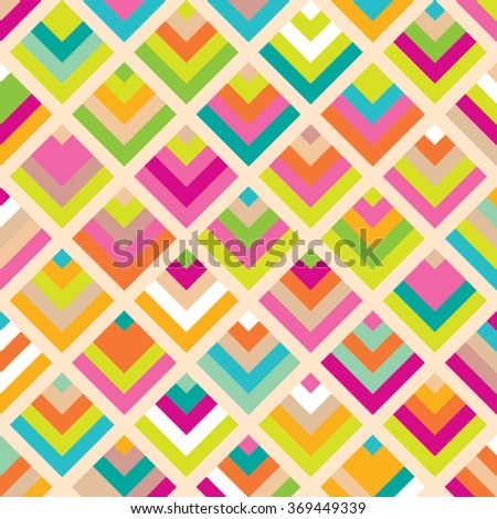 Abstract vector pattern. Geometric color background