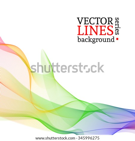Abstract vector rainbow. Colorful background for your template, brochure, poster, or business presentation design.