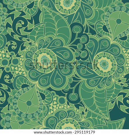 Abstract vector seamless pattern. Endless texture can be used for wallpaper, pattern fills, web page background,surface textures. Used mask. - stock vector