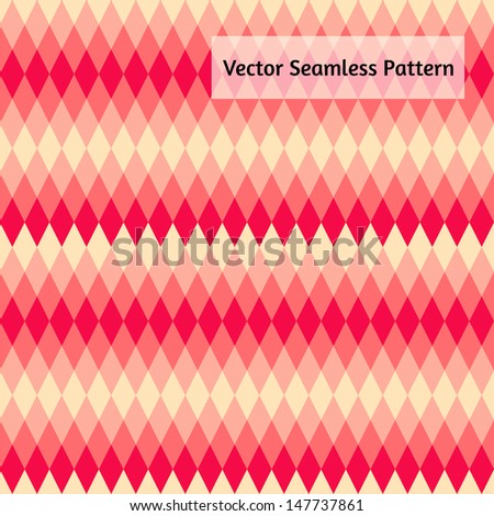 Abstract vector seamless pattern. Stylized flat design. - stock vector