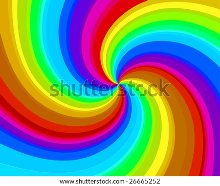 Abstract vector spiral background for design use