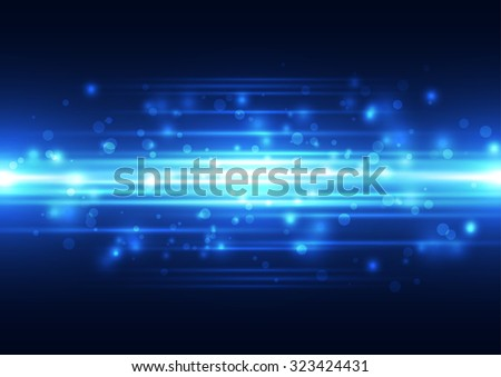 Abstract vector  technology background, illustration - stock vector