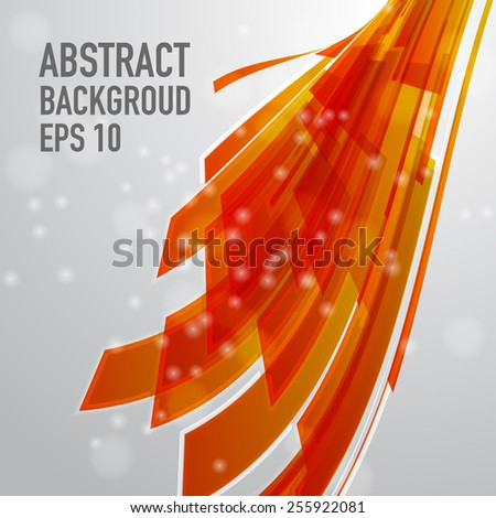 Abstract vector technology lines, designed for party flyer