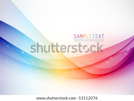Abstract Vector Wave - stock vector