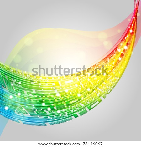 Abstract versicolor background. Vector.