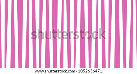 Abstract Vertical Striped Pattern Pink And White Cute Baby Print Background For Wallpaper