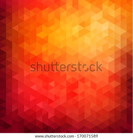 Abstract vibrant background - stock vector