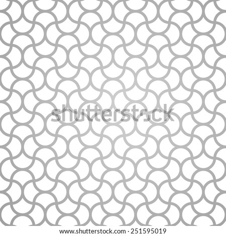 Abstract Vintage Geometric Pattern. Seamless background. Vector illustration - stock vector