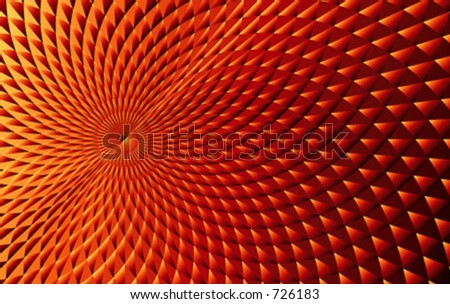 Abstract vortex background - stock vector