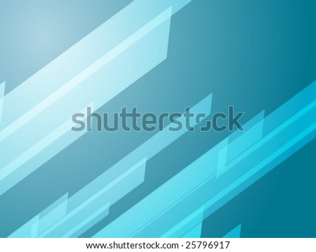 Abstract wallpaper illustration of geometric dynamic shapes - stock vector