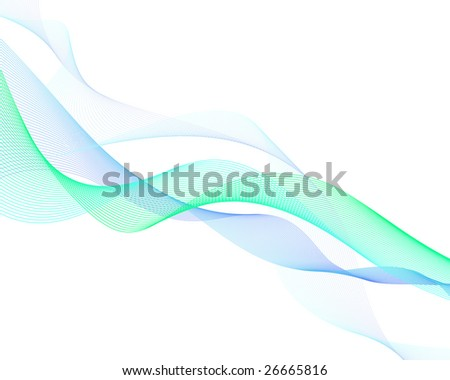 Abstract water vector background for design use