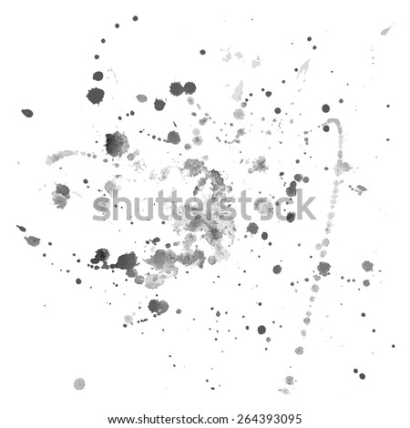 Abstract watercolor background. Splashes nr.2 - stock vector