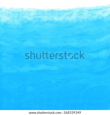 Abstract watercolor background. Vector illustration. Global color used. - stock vector