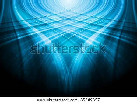 Abstract wave background. Eps 10 vector - stock vector