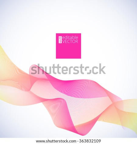 Abstract wave background  for your design and presentations, vector illustration.
