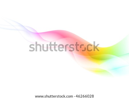 Abstract Wave Background Original Vector Illustration