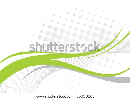 Abstract wave line background from intertwining lines