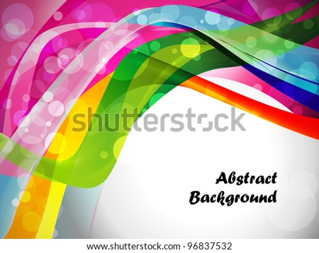 Abstract wave vector layout