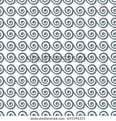 Abstract wavy grey pattern. Geometric background