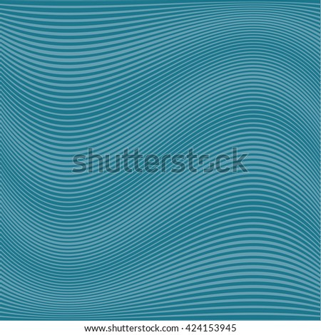 Abstract Wavy Lines Pattern. Modern Background. Vector. Texture pattern for your design. - stock vector