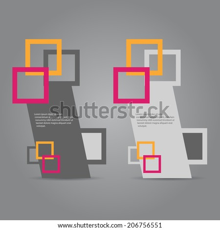 Abstract web banners design. - stock vector