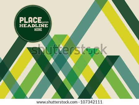 Abstract web design background/vector - stock vector