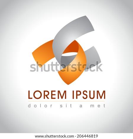 Abstract web Icon  - stock vector