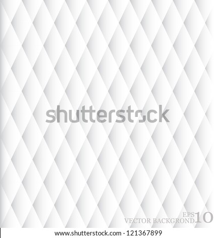 Abstract White Background. Vector illustration (editable seamless pattern) - stock vector