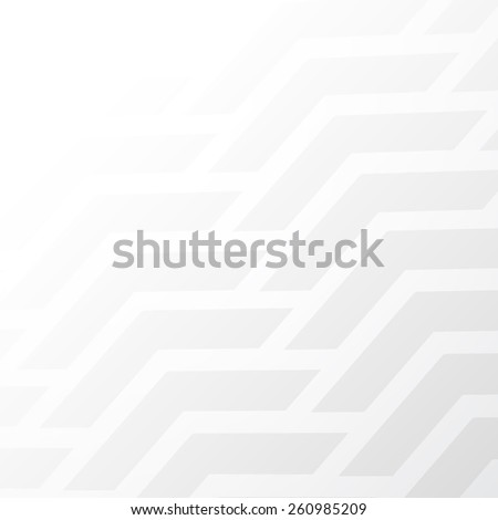 Abstract white background with volume shapes for your business cards or covers - stock vector