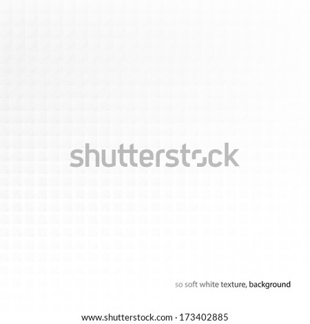 Abstract white textured background design - stock vector