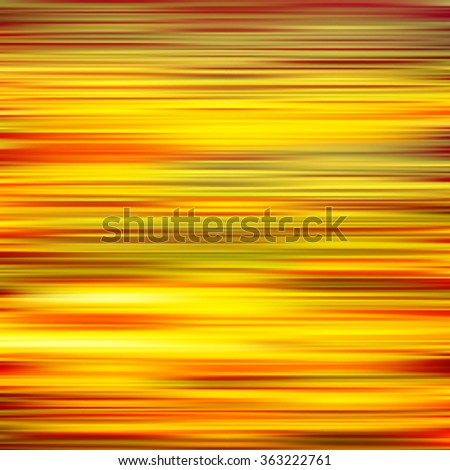 abstract yellow red motion blur background vector illustration - stock vector