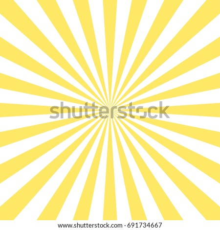 Abstract Yellow Sun Rays Background Icon Stock Vector 691734667 ...