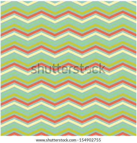 abstract zig zag background - stock vector