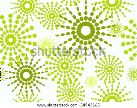 abstraction beautiful decorative wallpapers background - stock vector