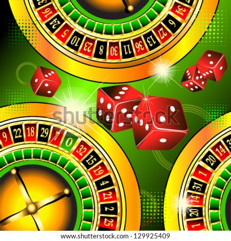 Abstraction casino - stock vector