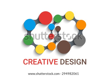 Abstracts rounds background. Eps10 vector background - stock vector
