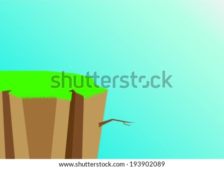 abyss - stock vector