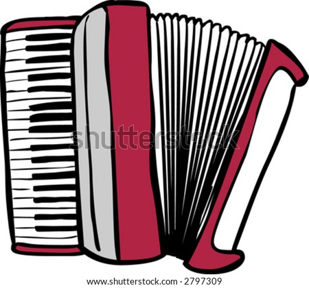 stock images similar to id 52391755 accordion accordion clip art black and white air accordion clipart
