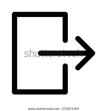 account logout user logout sign out stock vector royalty free