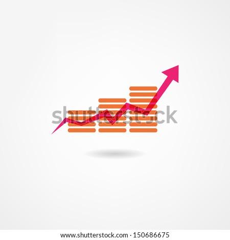 accountant icon - stock vector