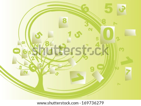 Accounting cost - stock vector