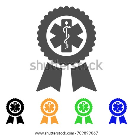 achievement medical seal vector pictograph style stock vector rh shutterstock com California State Seal Clip Art Oval Seal Vector