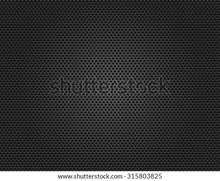 acoustic speaker grille texture background vector illustration - stock vector
