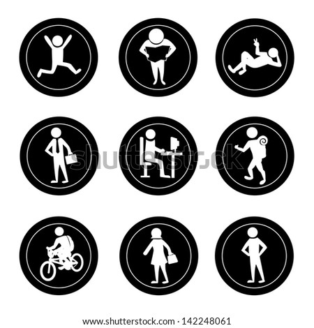 activities icons over white background vector illustration