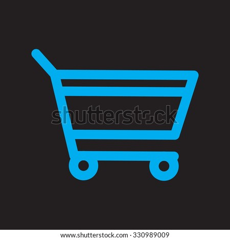 add to cart. black icon. eps 10. - stock vector