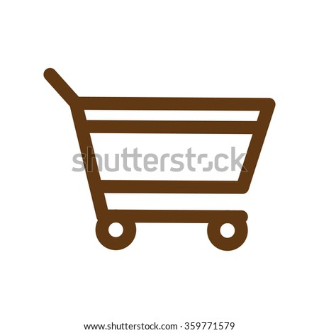 add to cart. btown icon. eps 10. - stock vector